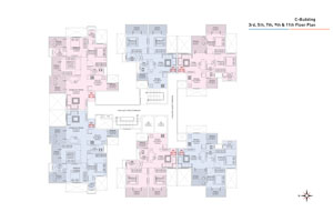 C wing Odd Floor Plan