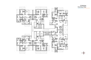 E wing First Floor Plan