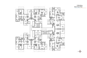 E wing Even Floor Plan