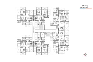 E wing Odd Floor Plan